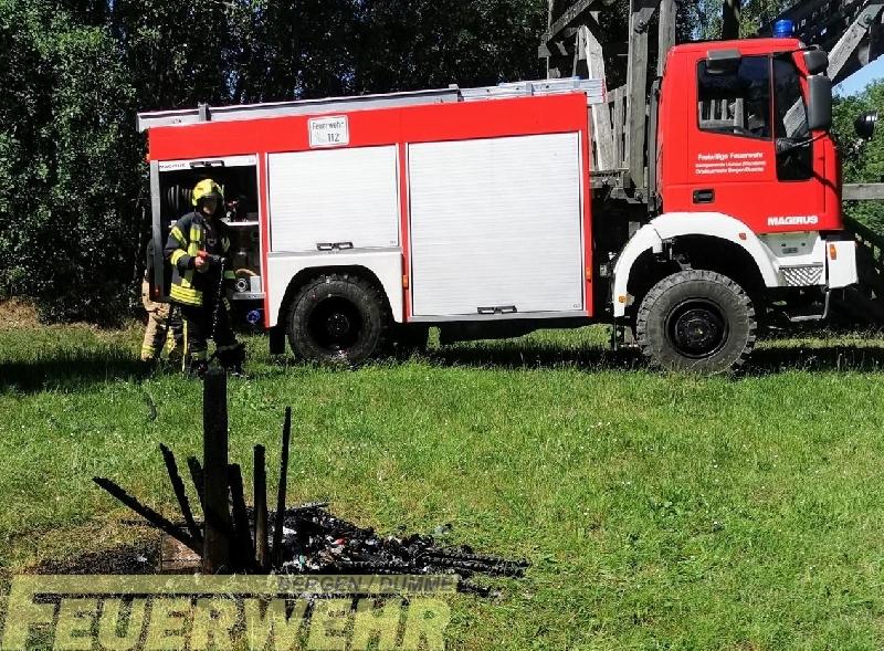 Brandeinsatz sonstige